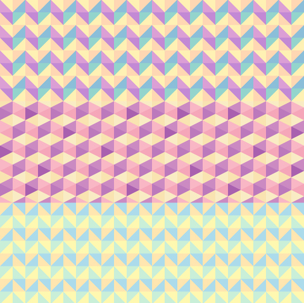 5 Seamless Polygon Backgrounds For You