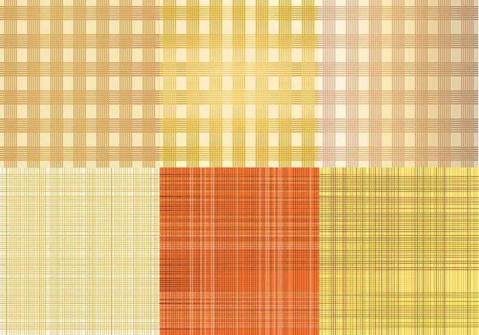 6 Burlap Vector Textures