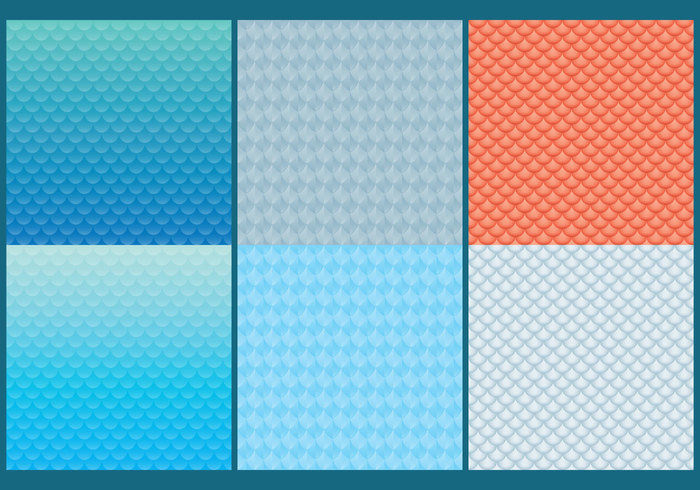 6 Fish Scale Patterns For Free