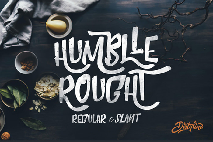 Excellent Humblle Rough Font