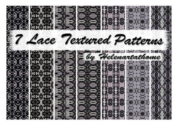7 Lace Textured Patterns