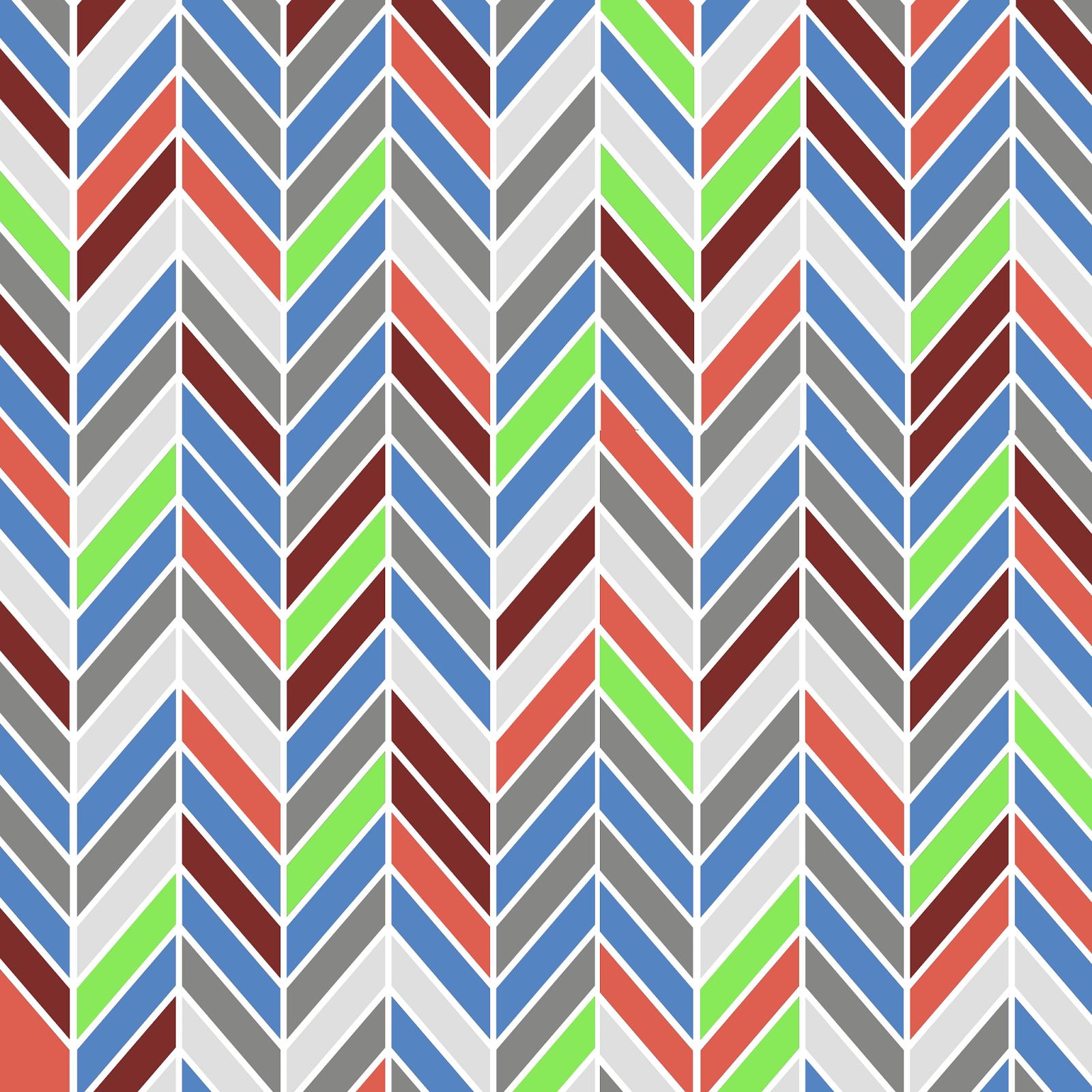 8 Colorful Chevron Background
