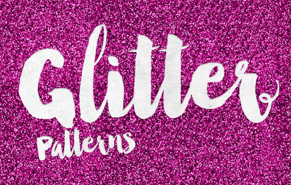 8 Free Glitter Effect Patterns