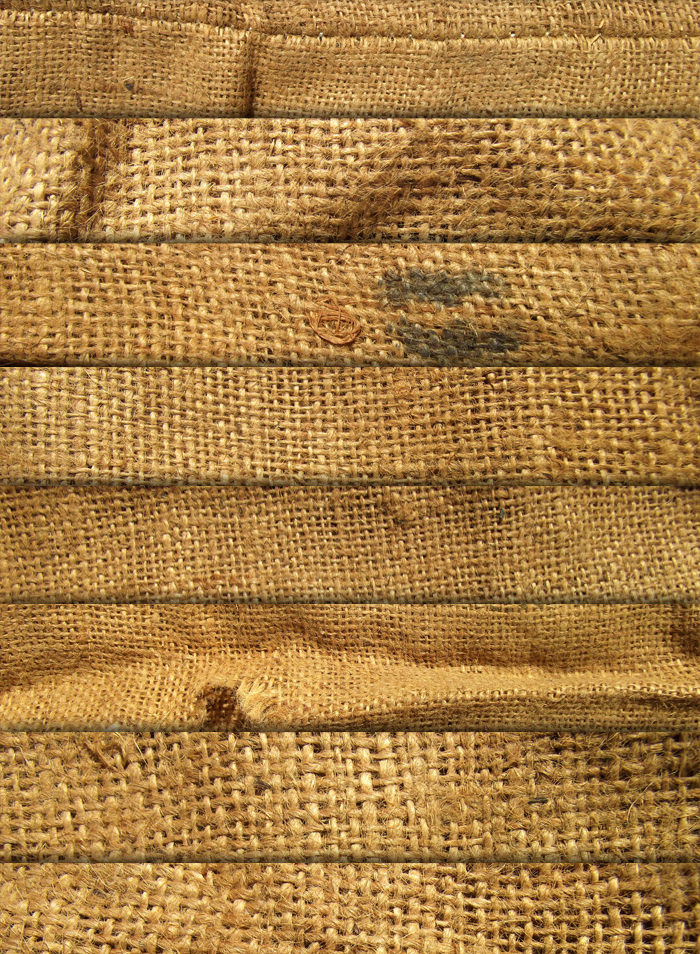 8 Old Burlap Sack Textures