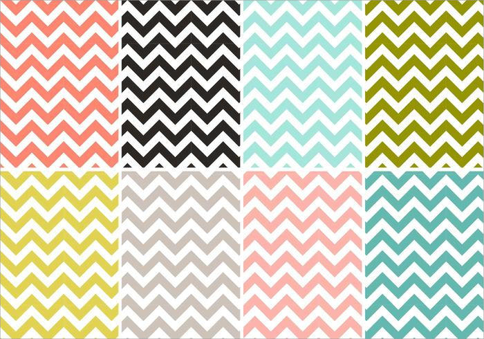 9 Chevron Background Pack