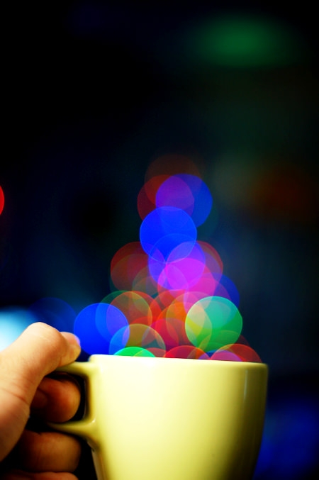 A Cup of Bokeh Photograhy