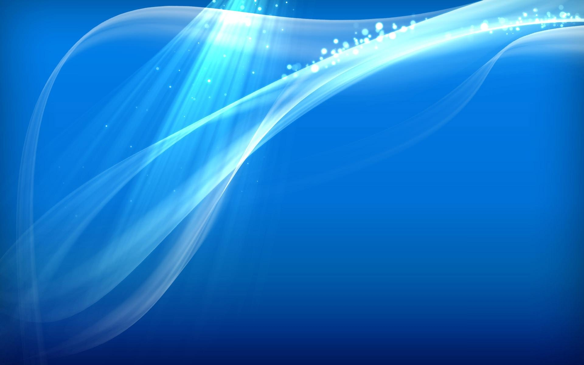 Abstract Blue Wallpaper For Free