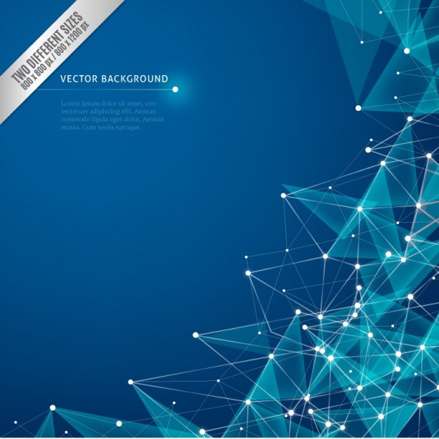 Abstract Cybernetic Background Free Vector