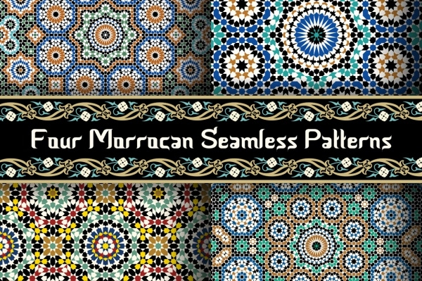 Abstract Morocco Seamless Pattern