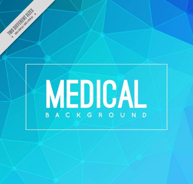 Abstract Polygon Medical Background