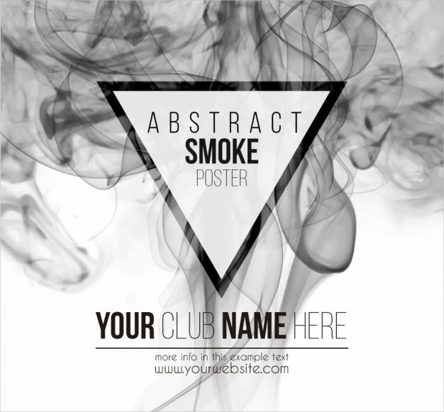 Abstract Smoke Free Vector