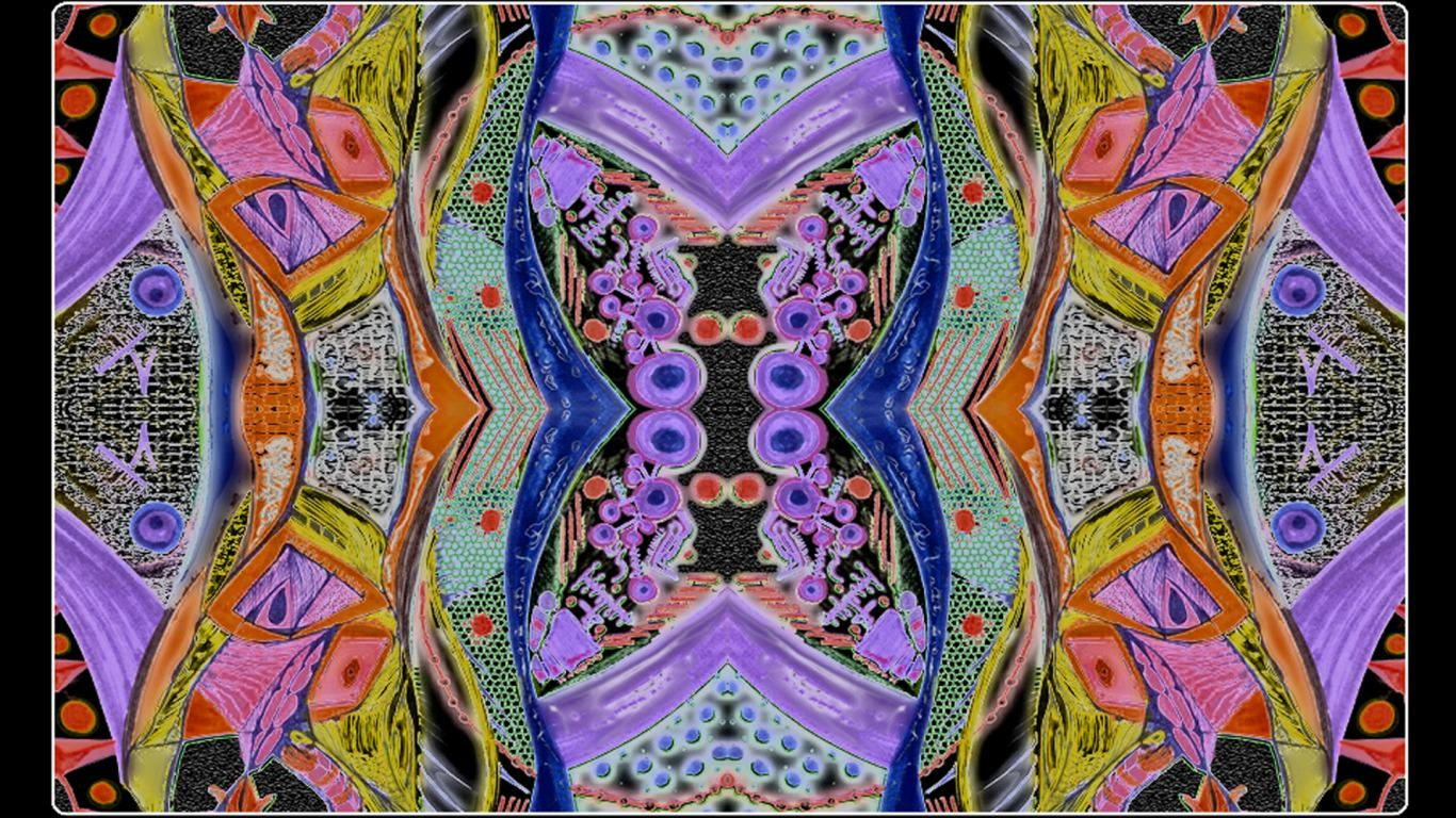 Abstract Trippy Wallpaper