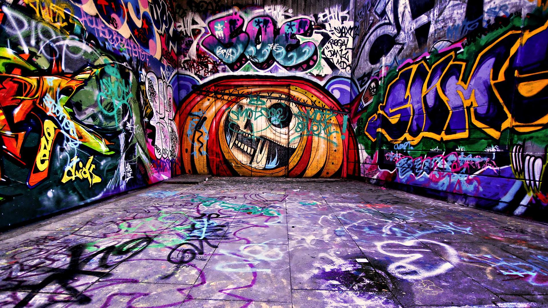 Amazing Graffiti Wallpaper