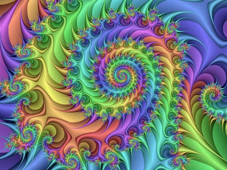 Amazing Hippie Background