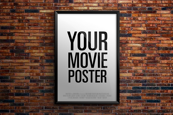 Amazing Movie poster mockup