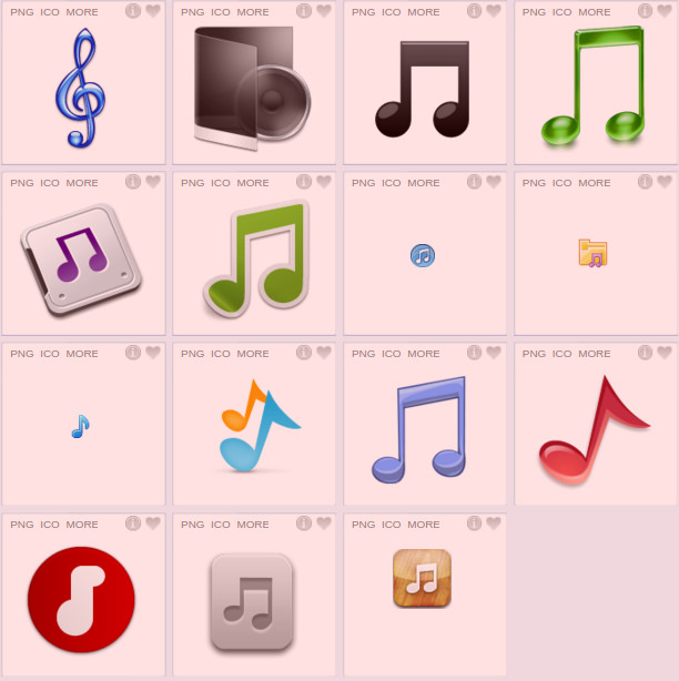 amazing music icons for download