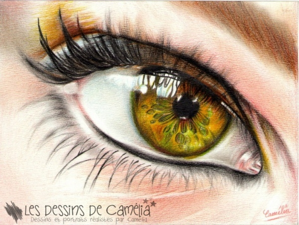 Amazing Pencil Drawing of Eye