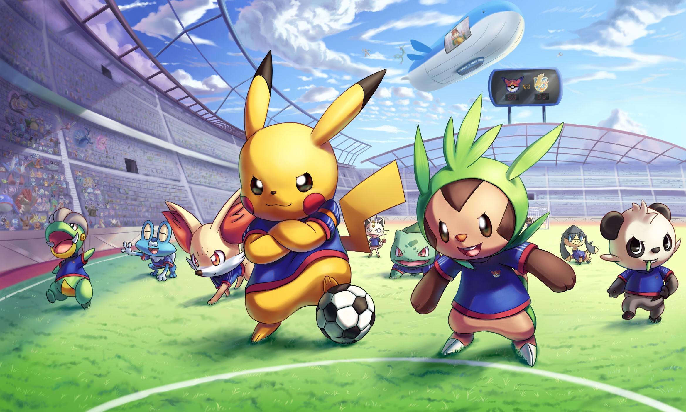 Amazing Pokemon Background Wallpaper