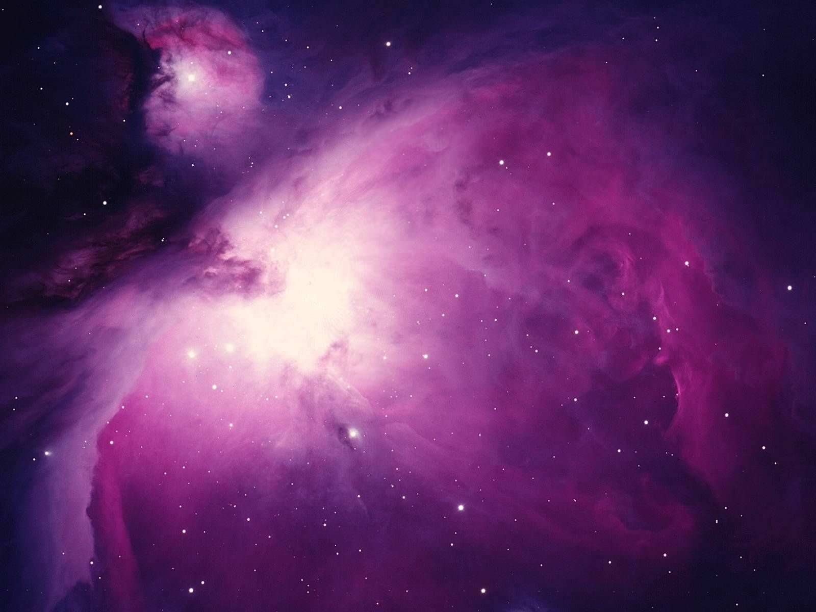 Amazing Purple Galaxy Background