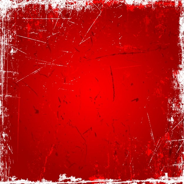 Amazing Red Grunge Background