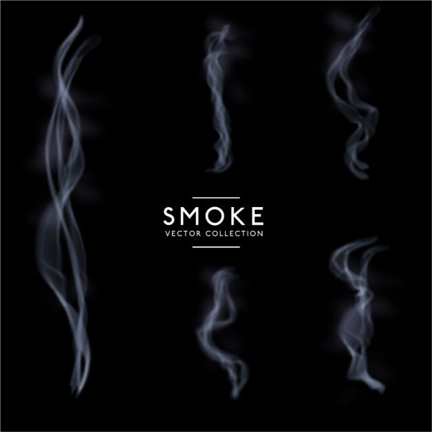 Amazing Smokes Pack Free Vector