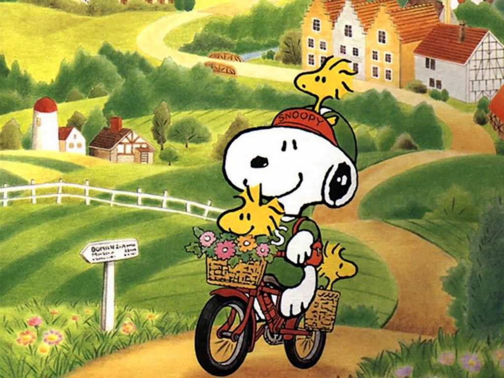 Amazing Snoopy Wallpaper