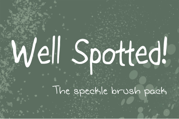 Amazing Speckle Brush For Free
