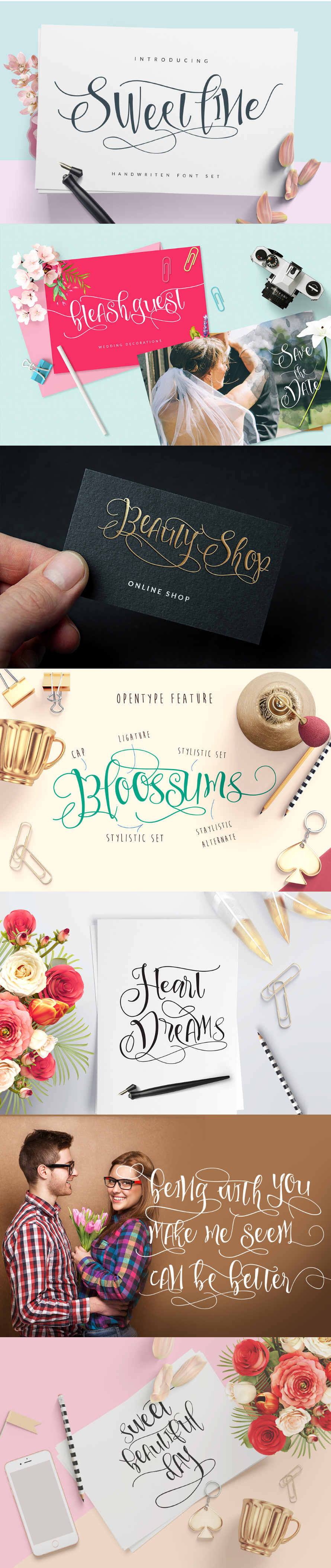 Amazing Sweetline font