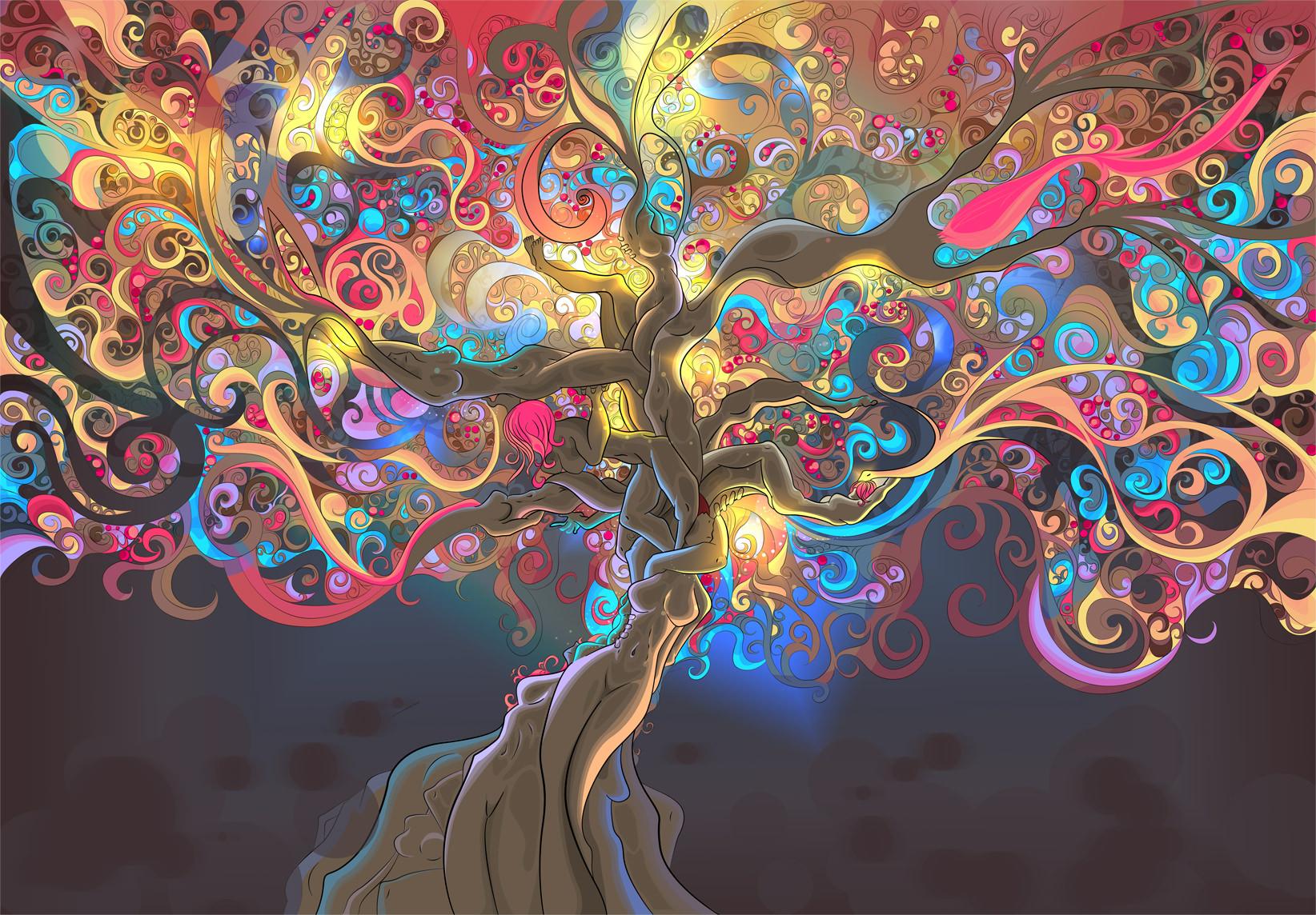 Amazing Trippy Wallpaper