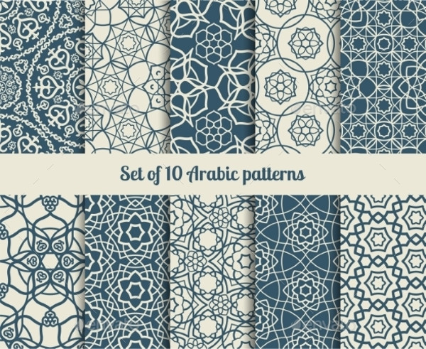 Amazing Vector Arabic Pattern
