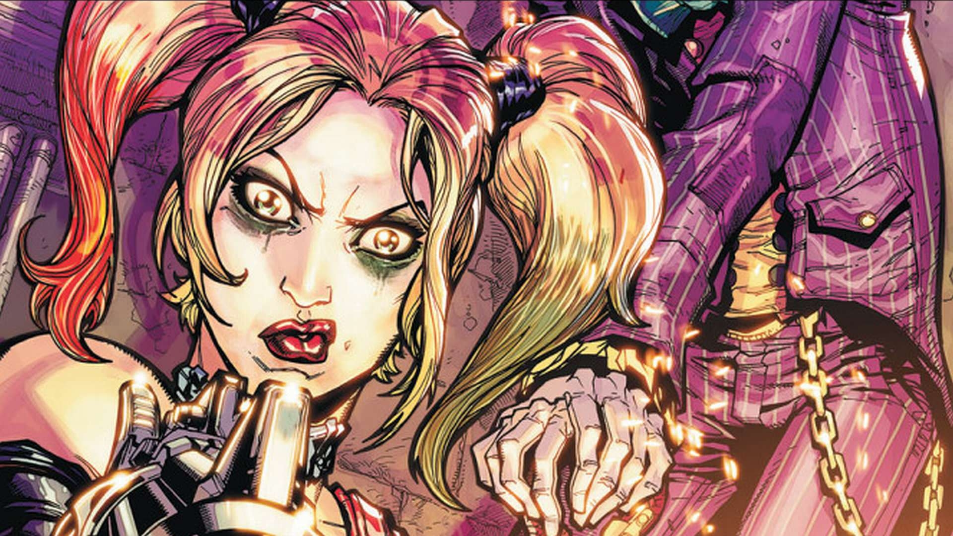 Angry Harley Quinn Wallpaper