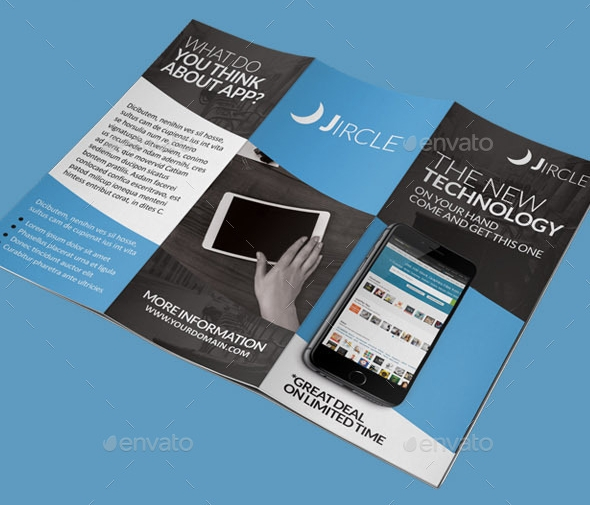 App Promotion Trifold Brochure