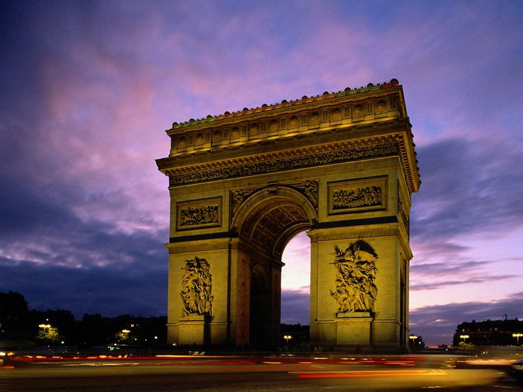 Arc De Triomphe Paris Background