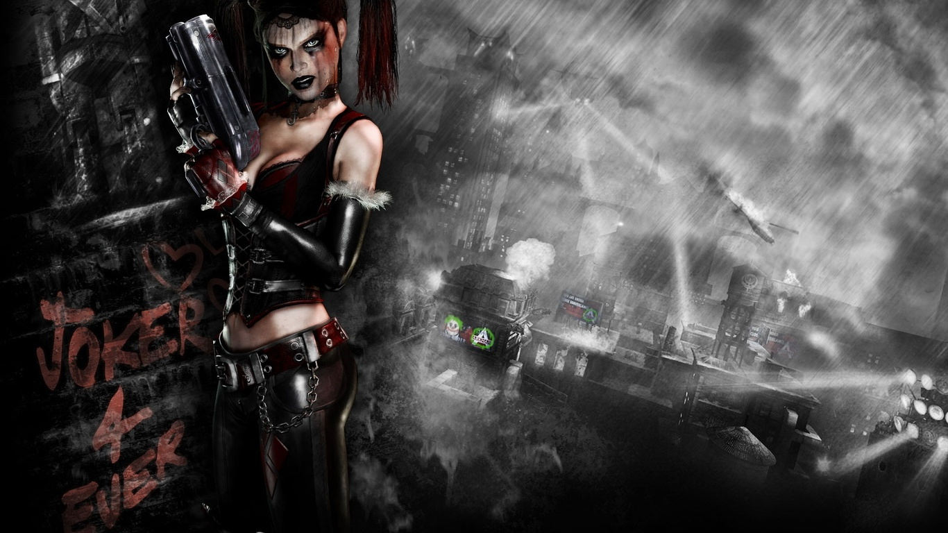 Arkham City Harley Quinn Wallpaper