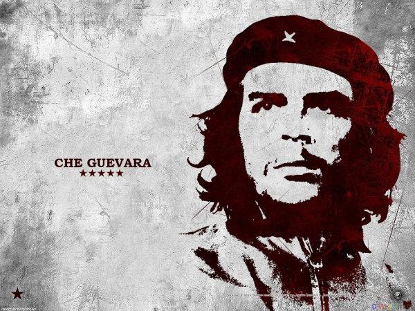 Artistic Che Guevara Wallpaper