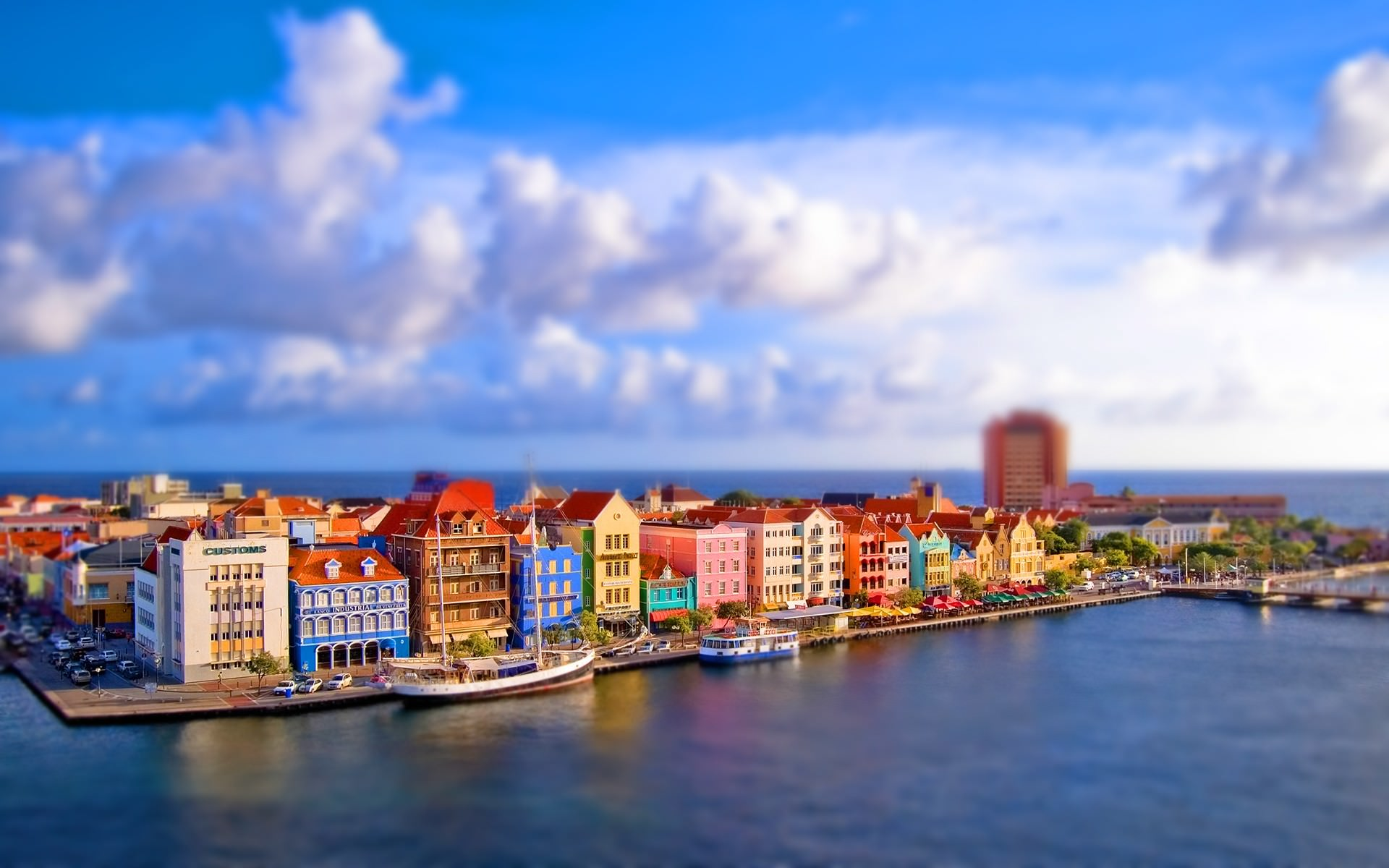 Astonishing Tilt Shift Wallpaper