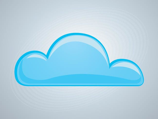 Awesome Cloud Vector For Free