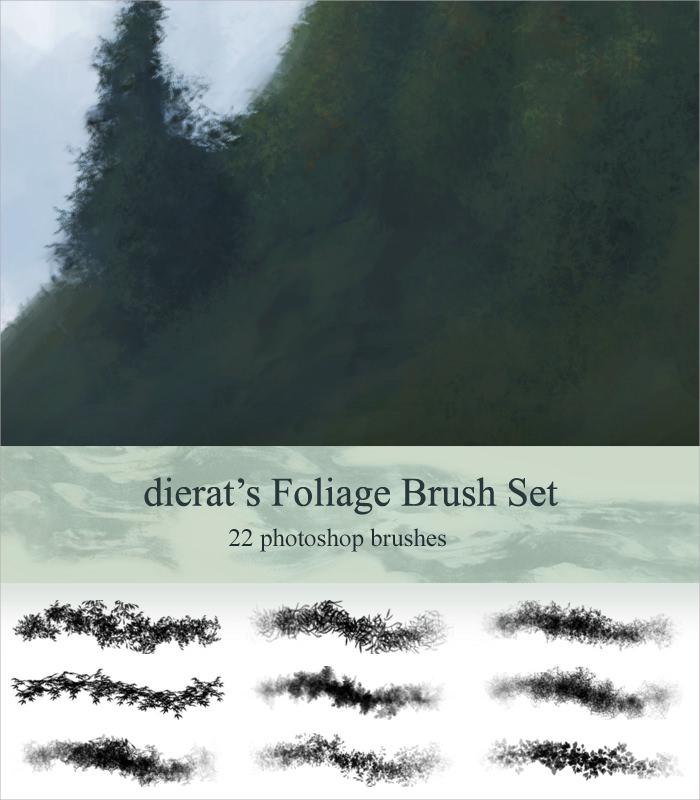 Awesome Foliage Brushes