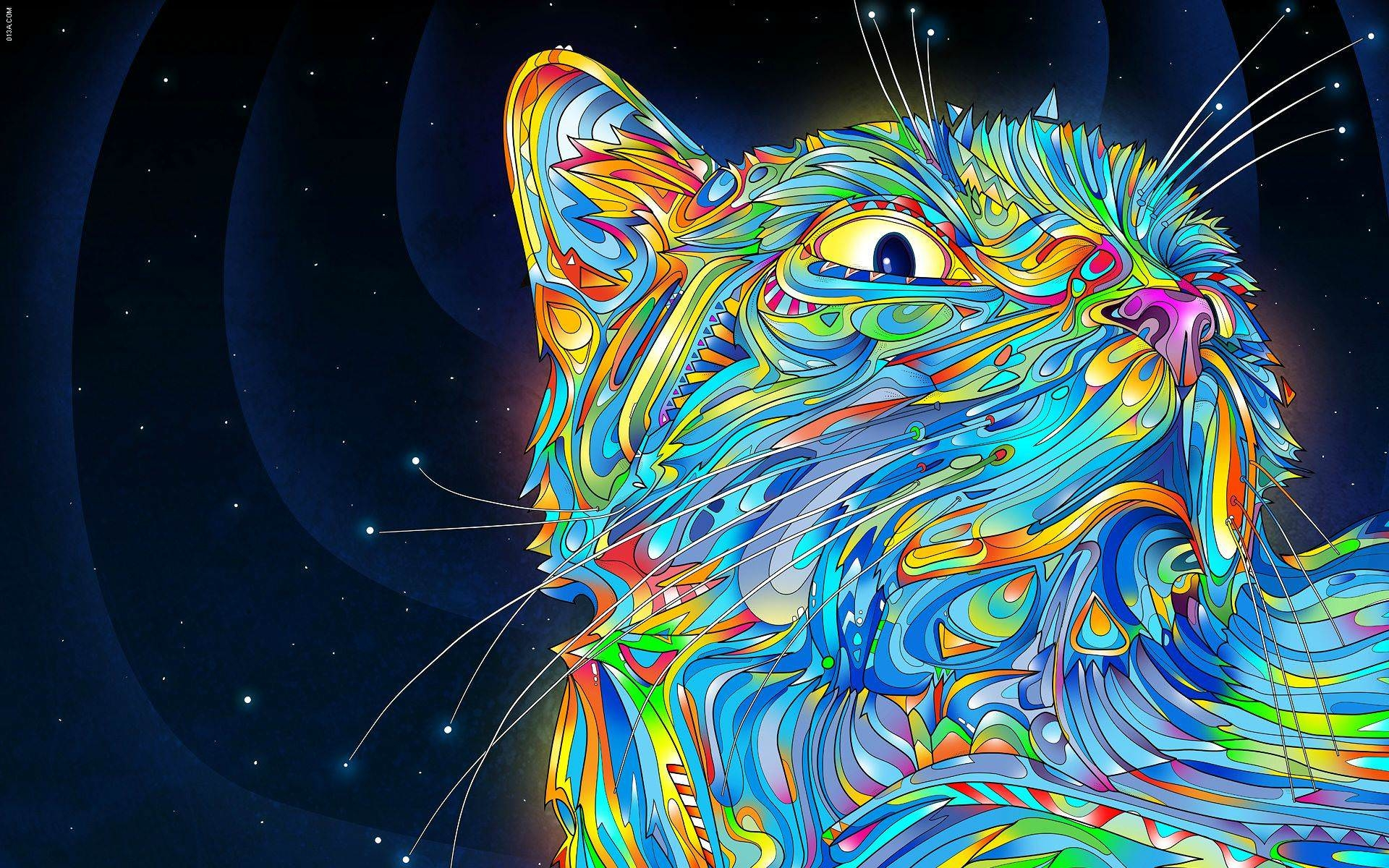 Awesome Trippy Wallpaper
