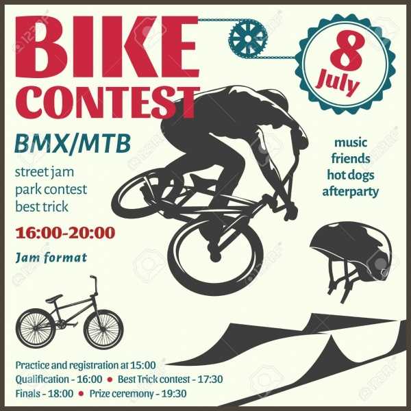 BMX Event Racing Flyer