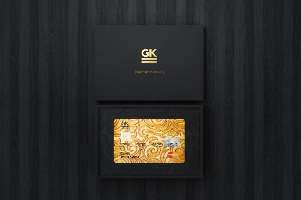 Bank Membership Card Design