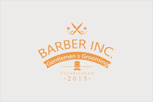 Barber INC Gentlemen?s Grooming Logo