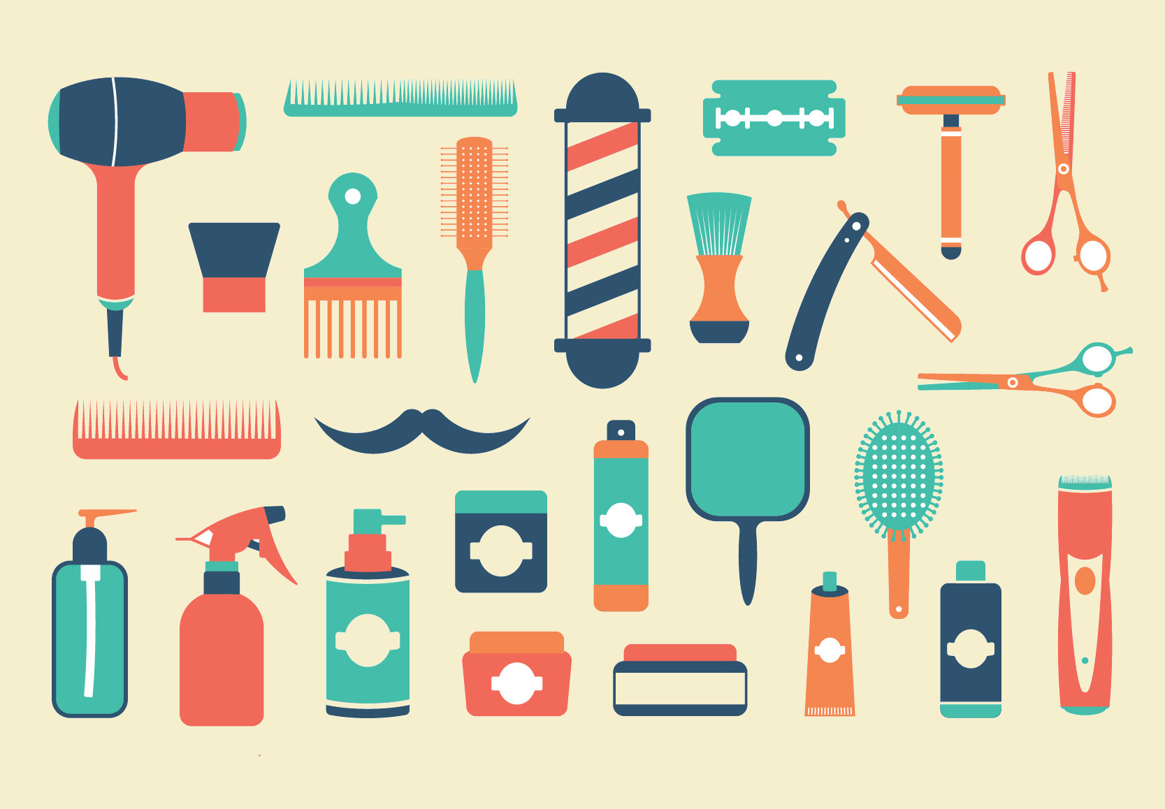 Barbershop Elements Pack