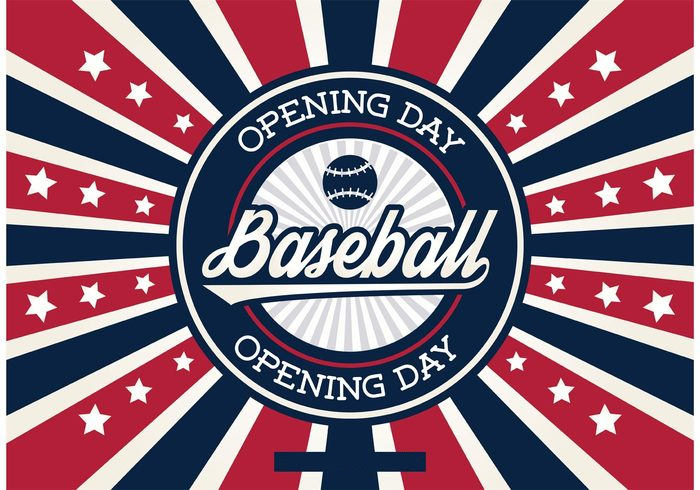 Baseball Opening Day Background