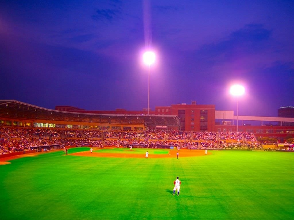 Baseball Stadium For desktop Background