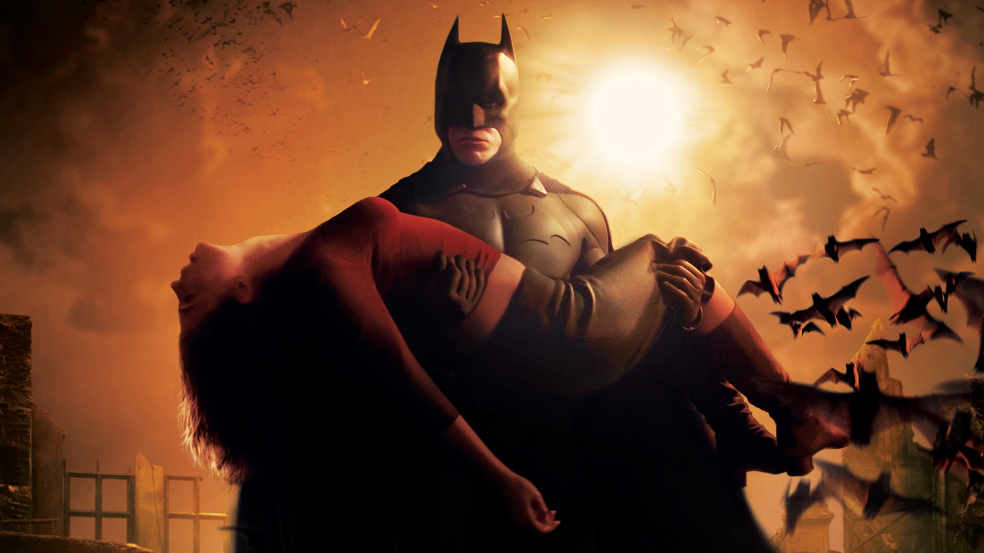 Batman Begins HD Wallpaper