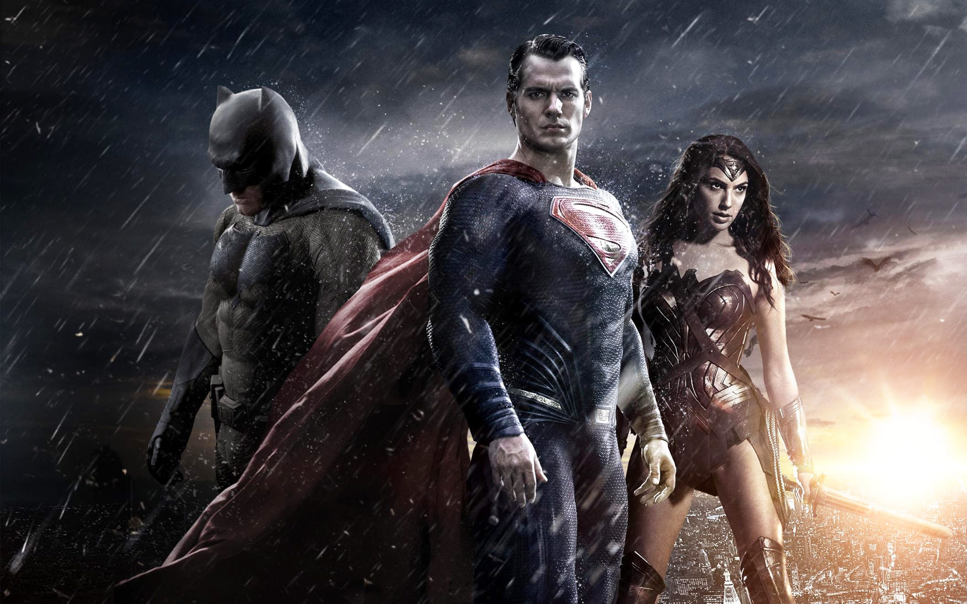 Batman Superman & Wonder Woman Wallpaper