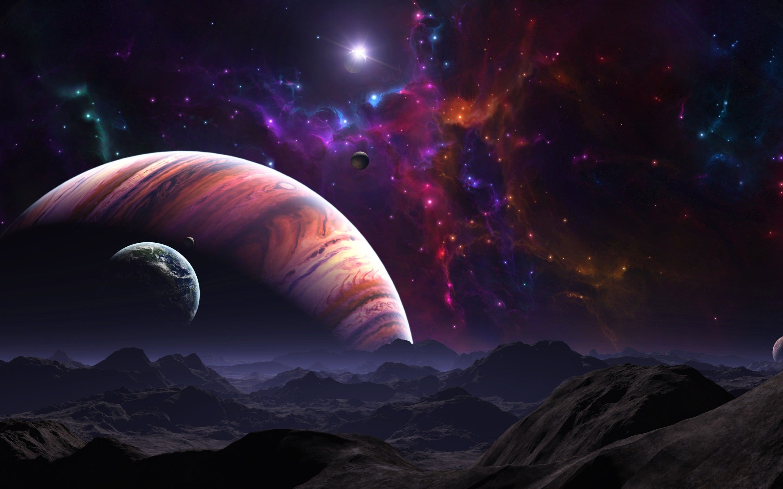 Beautiful Outer Space Background