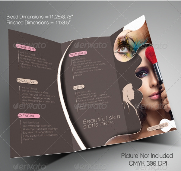 Beauty Salon Promotional Brochure