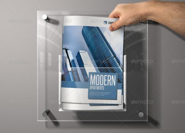 Bi Fold Brochure for Construction